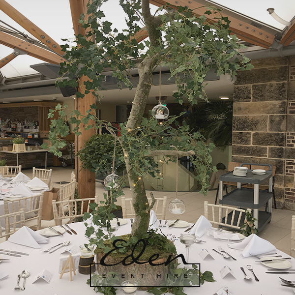 Tree Table Centre Pieces 5ft